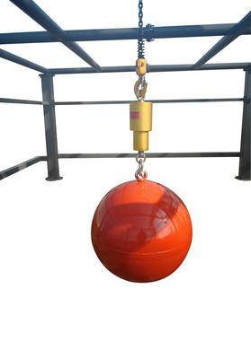 安全网冲击钢球